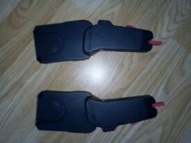 Quinny moodd carseat adapters