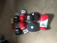Focus Pads and various Gloves