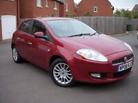 2008 08 FIAT BRAVO JTD 150 BHP 6 SPEED 2 KEYS FULL FIAT SERVICE HISTORY 12 STAMPS JUST SERVICED