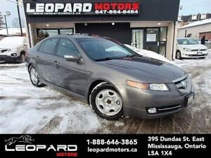 2008 Acura TL Navigation,Camera,Bluetooth