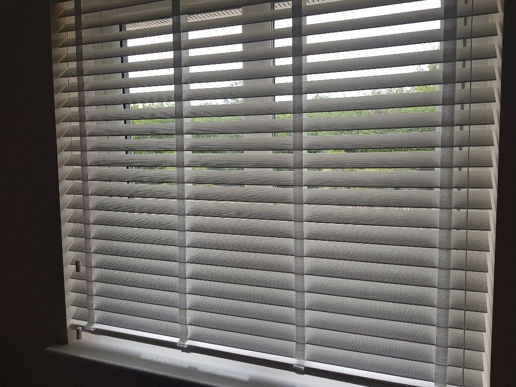 Wood impressions blinds purchased from blinds to go