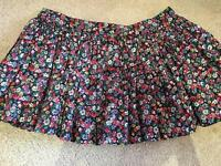 Barely worn Jack Wills floral skirt