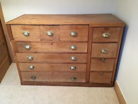 chest of drawers, this is a one off commissioned piece