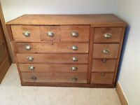 Beautiful unique chest of drawers, this is a one off commissioned piece