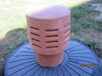 Chimney cowl terracotta clay