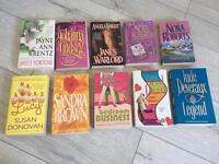 10 fiction paperbacks / chic lit / romance