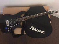 Ibanez Gio GRG170DX Black Night Used with accesories