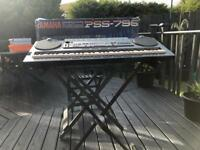 Yamaha portasound pss-795 keyboard and stand