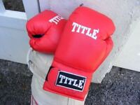 Boxing Gloves Hardly Used Fits Older Children and Adults