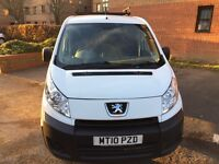 2010 Peugeot expert 1.6 HDI 90 excellent condition