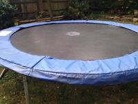 Free used 10foot trampoline.