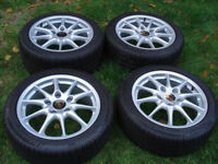 Porsche Carrera II BBS 911 Boxster alloy wheels in Excellent condition