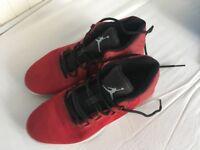 Boys Jordan trainers size 3/36 boys trainers Nike Jordan's red and black