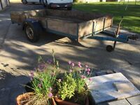 Trailer. Single axle 10 ft X 5ft 3in. Good Condition.