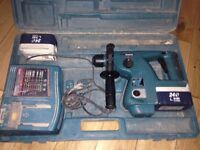makita 24 volt drill needs new batteries but carcus works and charger £20