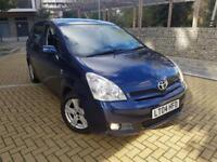 Toyota Corolla Verso 1.8 T3 Automatic WARRANTY LW MILES+NW SHAPE CALL 07709297381