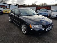 Volvo S60 2.0 T SE 4dr / 2005 (55 reg), Saloon / MOT FEB 2019/PLUS WARRANTY