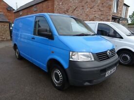 2006 vw transporter T5 1.9 tdi T30 NO VAT with Tailgate ideal camper conversion SWB