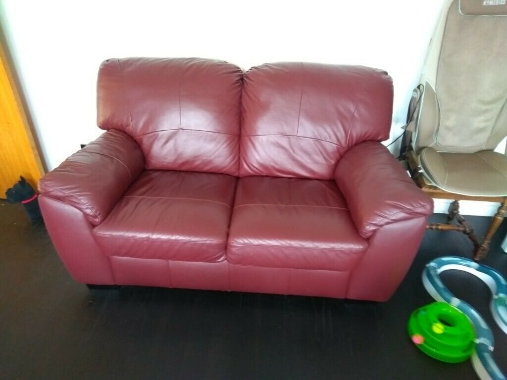 Brilliant Argos Milano Genuine Leather Two Seater Sofa In Ferring West Sussex Gumtree Pdpeps Interior Chair Design Pdpepsorg