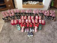 job lot 40 pairs of toddler shoes