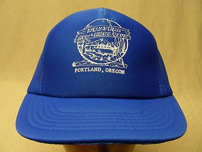 5e4eda7de16 WESTERN ROD   REEL CLUB - TRUCKER STYLE M L SIZE SNAPBACK BALL CAP HAT!