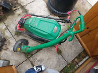 Corded qualcast Mower and strimmer