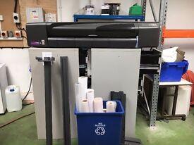 Hewlett Packard Designjet 800ps Large Format Printer For Sale
