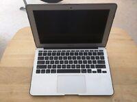 "Macbook Air 11"", Mid 2013, 4GB RAM, 128GB SSD, Core i5. Includes Moshi Case"