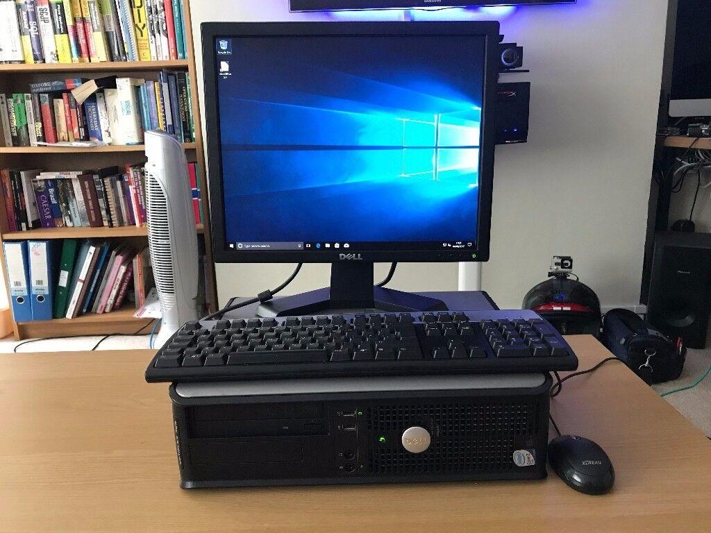 Cheap desktop computer - Cheap Desktop Workstation Computer Dell Optiplex 360 Windows 10 Pro Office Great For Office