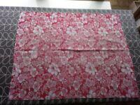 Very rare Cath Kidston red stencil flower fabric