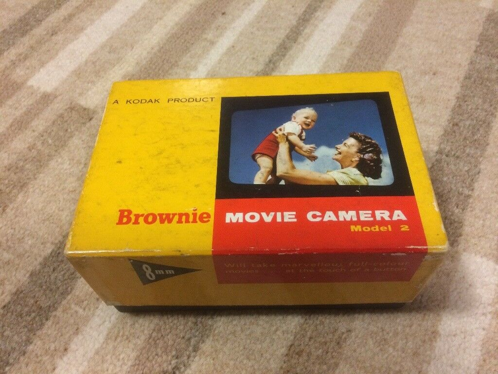Kodak Brownie Standard 8 Cine camera