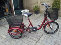 Adult Electric Bike 3 wheeler Trike