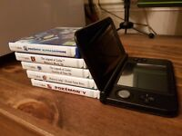 Nintendo 3DS XL - Black (+6 Games: 2 Pokemon, 3 Zelda and 1 Mario! AND a charger! Save £90!