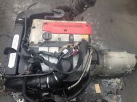 Mercedes 2003 W203 C200 Kompressor Complete Engine & Automatic Gearbox.