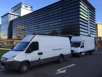 Man With Large Van Hire - House/Flat/Office Cheap Removals moves & Single Items (Same Day)