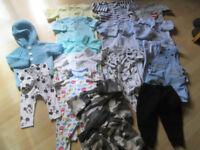 BABY BOYS CLOTHES SELECTION