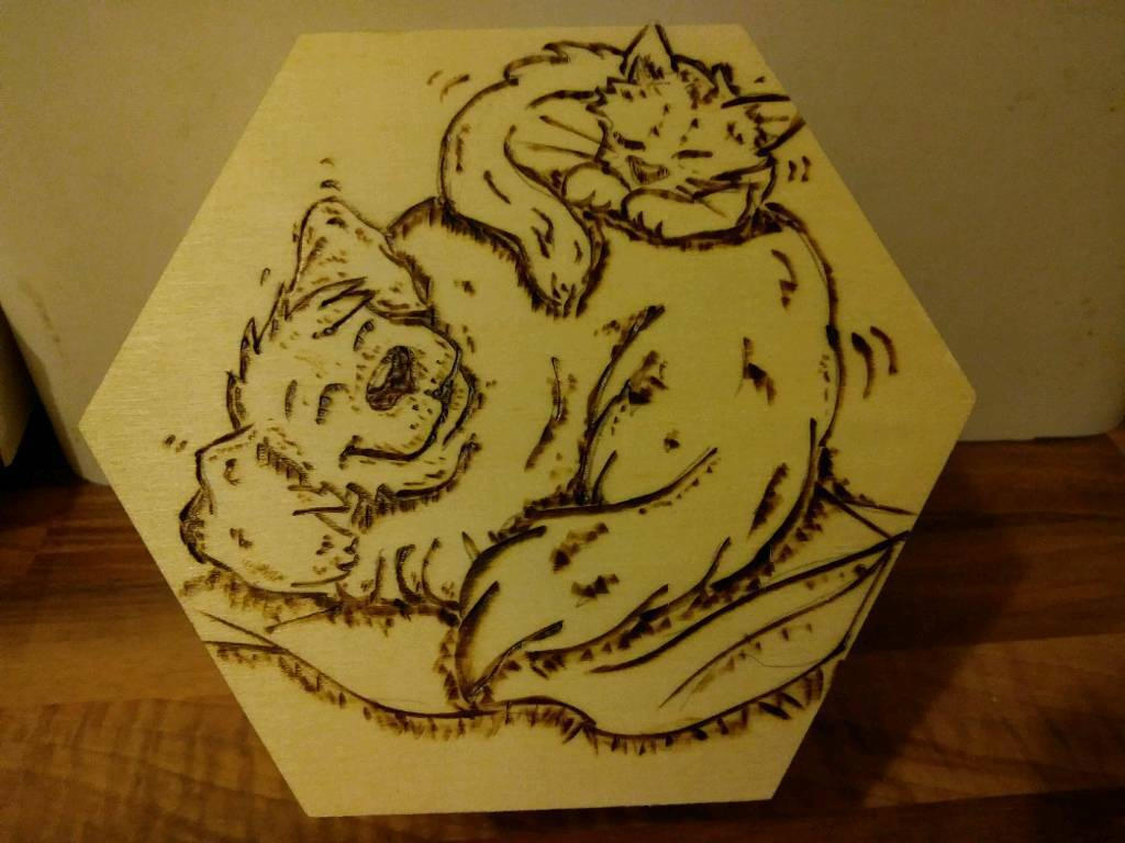 Wooden trinket boxes. Animal designs. £10