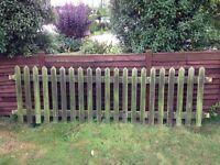 Garden fence panels.