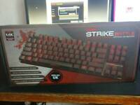 Ozone Strike Battle Mechanical Compact Gaming Keyboard - Cherry MX Red Switches