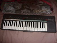 Bontempi Minstrel Organ- used but good working order. With case.