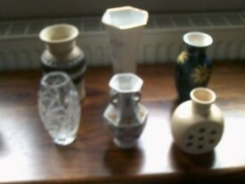 x6 vases