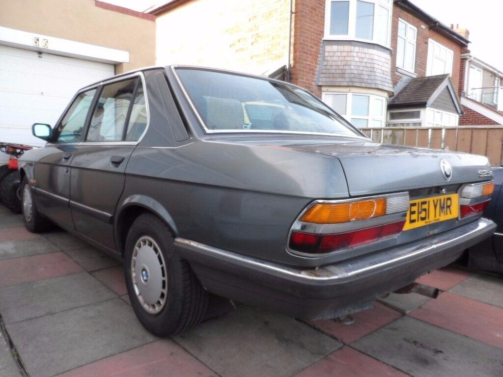 BARN FIND 1988 BMW 525E Lux Auto E28 Classic Car Running E30E21E12