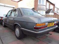 BARN FIND 1988 BMW 525E Lux Auto E28 Classic car running E30,E21,E12,E34,E36,E23,E32