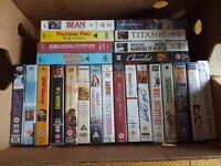 24 VHS Videos (Various) job Lot