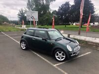 2003 Mini Cooper R50 1.6 Automatic with Alloys - Green *long mot*