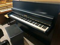 FREE DELIVERY 2Y W'ty 1988 Fazer 109 in 'Trafalgar Blue' Modern Upright Piano