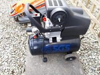 50 Litre Air Compressor (Like New) - 9.6CFM, 2.5HP, 50L - £70