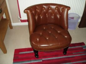 Traditional Bouji Accent /occasional Arm Chair