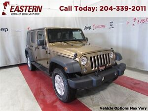 2015 Jeep WRANGLER UNLIMITED SPORT 3.6L 4X4 UCONNECT A/C CRUISE