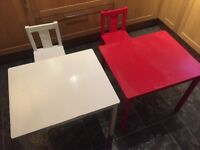 Ikea toddler table and chair
